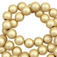 Miracle 3D Perlen 12mm Champagne gold beige
