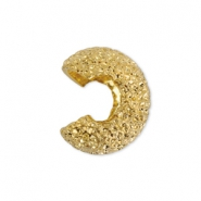 Beadalon Quetsch-Kaschierperlen Sparkle 4mm Gold