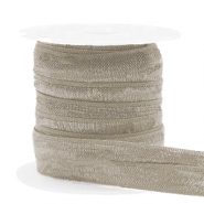 Elastisches Band Taupe