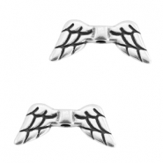 Metall Perlen DQ Angel Wings Antik silber (nickelfrei)