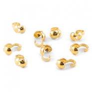 DQ Kalotten 4 mm gold plated
